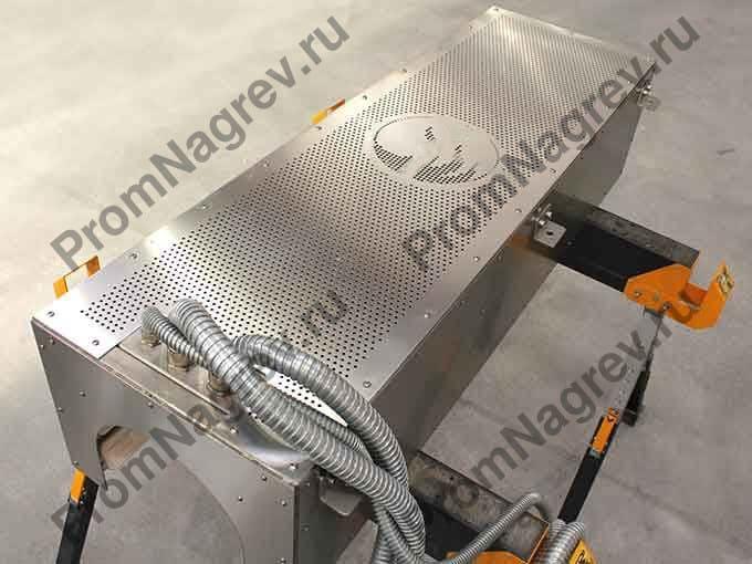 Инфракрасная система предварительного нагрева труб из пвх
