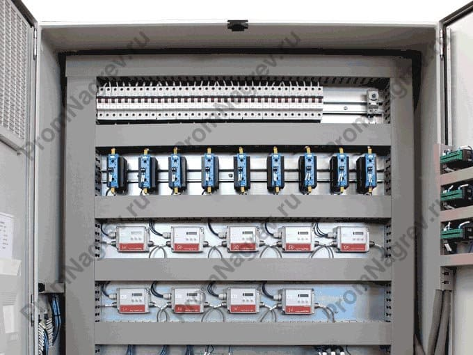 Шкафы управления инфракрасным нагревом